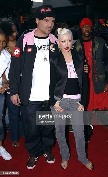 David LaChapelle director of 'Rize' and Christina Aguilera