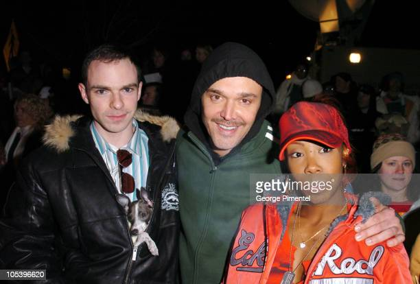 """David LaChapelle, director of """"Rize"""" and the cast of """"Rize"""""""