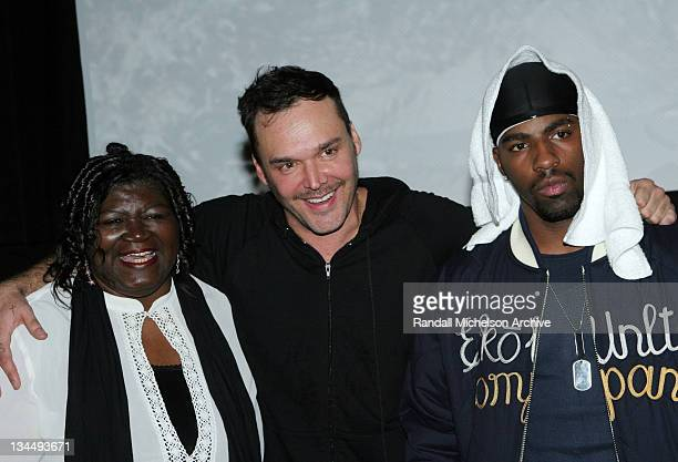 David LaChapelle director with the cast of 'Rize'