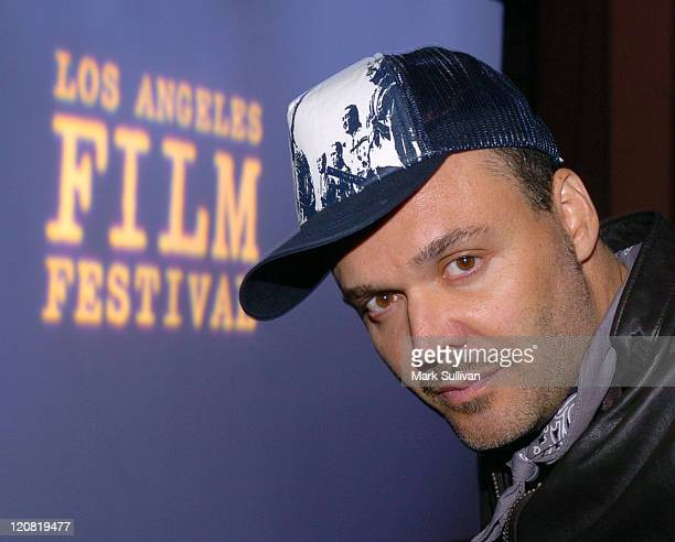 David LaChapelle director/producer during 2005 Los Angeles Film Festival Rize Screening at Ford Theatre in Los Angeles California United States