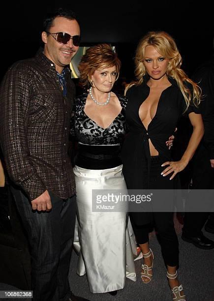 David LaChapelle, Sharon Osbourne and Pamela Anderson *EXCLUSIVE*