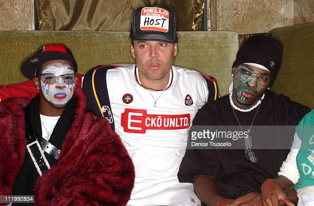 David LaChapelle with dancers during 2004 Park City - MAC Cosmetics and Ecko Host Party for David LaChapelle in Park City, Utah, United States.