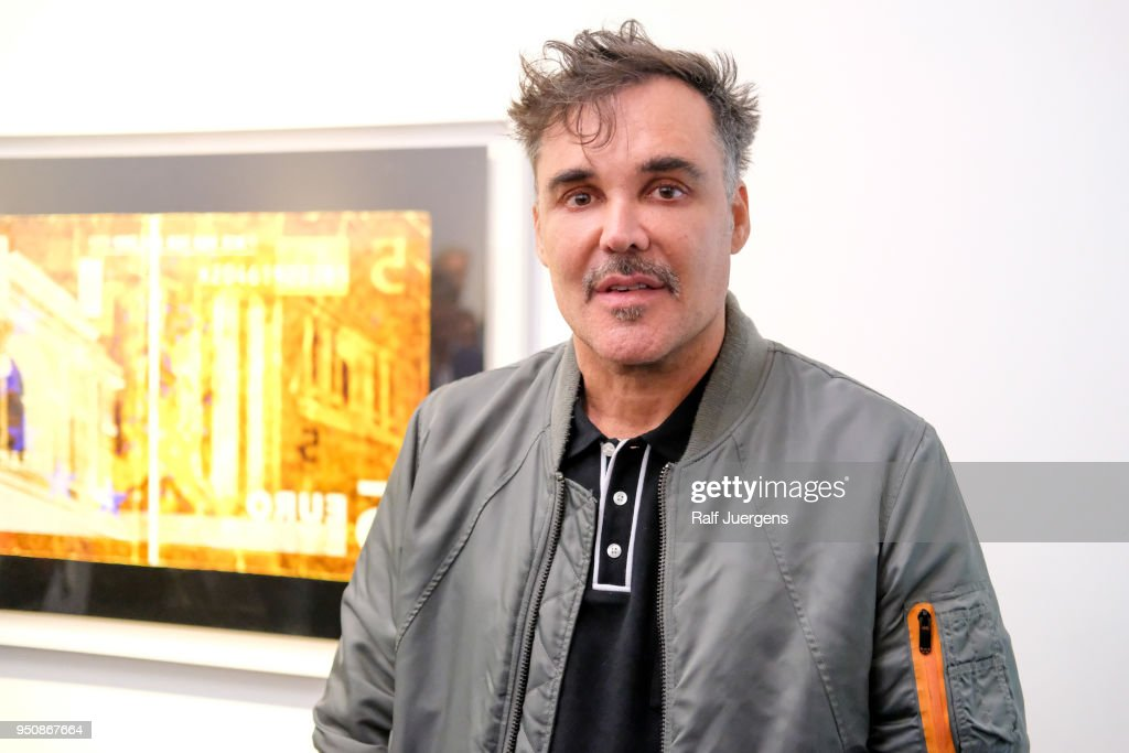 David LaChappelle attends his 'LACHAPELLE - Negative Currency' Exhibition Opening at Geuer und Geuer on April 24, 2018 in Duesseldorf, Germany. The exhibition will run from 24th April till 20th June 2018.