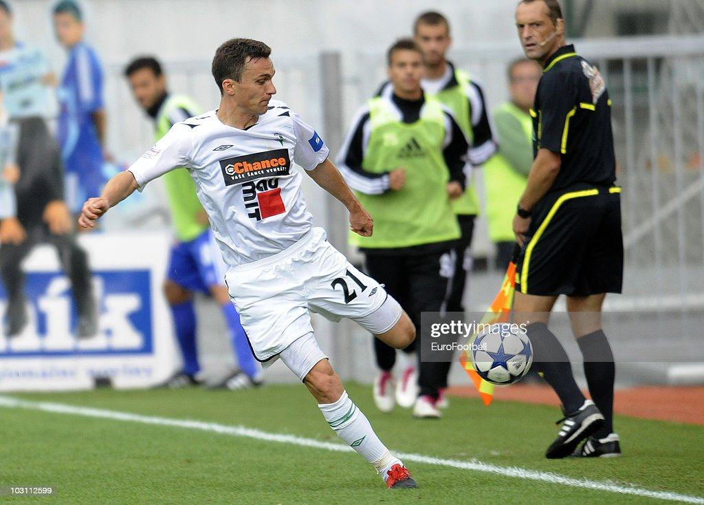 David Lafata Of Fk Baumit Jablonec During The Gambrinus Liga Match Between Sk Sigma Olomouc And