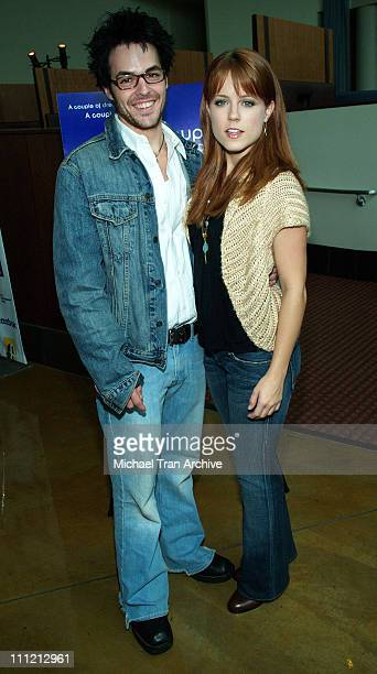 David Lago and Allison Munn during A Couple of Days and Nights Los Angeles Premiere Arrivals at ArcLight Theater in Hollywood California United States
