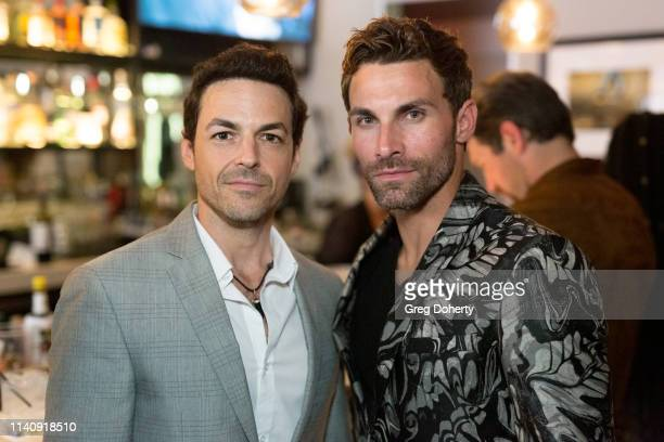 David Lago and Erik Fellows attend The Bay The Series PreEmmy Red Carpet Celebration at The Shelby on May 2 2019 in Los Angeles California