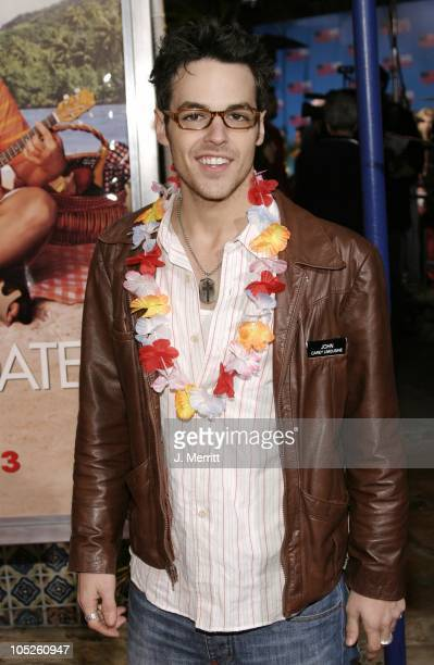 David Lago during '50 First Dates' Los Angeles Premiere at Mann Village Theatre in Westwood California United States