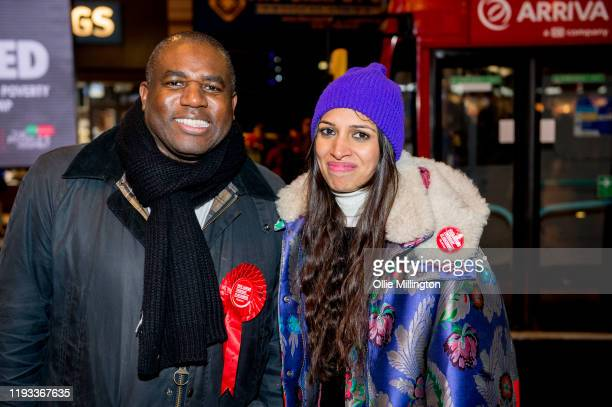 David Lammy Member of Parliament for Tottenham since 2000 campaigns with Faiza Shaheen Labour candidate for Chingford and Woodford Green on December...