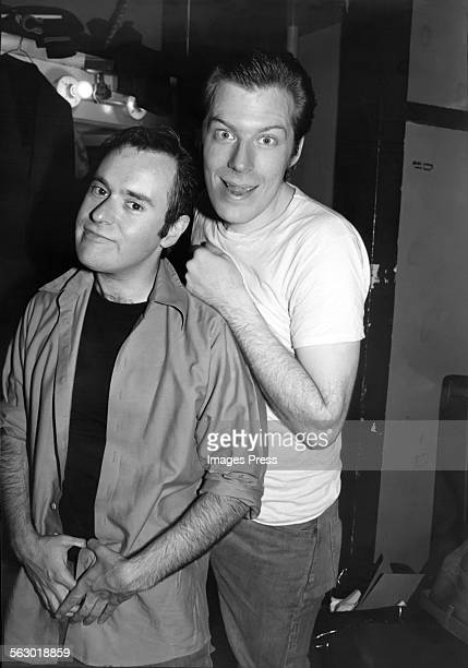 David Lander and Michael McKean circa 1979 in New York City