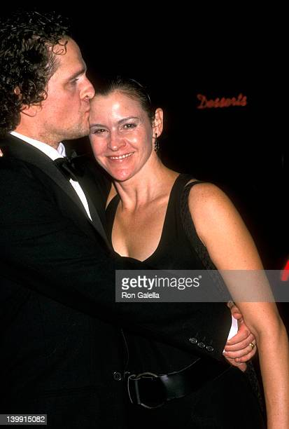 David Lansbury and Ally Sheedy at the Opening Night of 'Hedda Gabler' Ambassador Theatre New York City