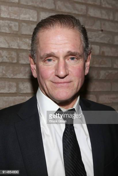 David Lansbury poses at the opening night party for Martin McDonagh's new play Hangman at The Gallery at The Dream Downtown Hotel on February 5 2018...