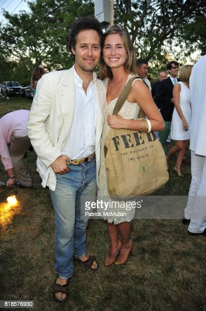 David Lauren and Lauren Bush attend AN ENCHANTED EVENING Southampton Hospital's 52nd Annual Summer Party at Wickapogue Road on August 7 2010 in...