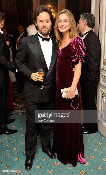 David Lauren and Lauren Bush attend the 56th annual Viennese Opera Ball at The Waldorf=Astoria on February 4 2011 in New York City