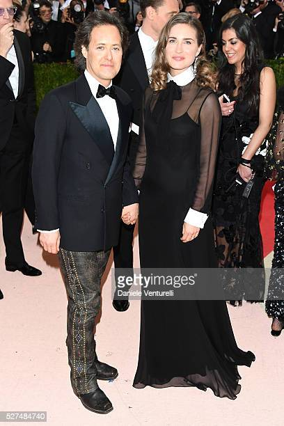 David Lauren and Lauren Bush attend the 'Manus x Machina Fashion In An Age Of Technology' Costume Institute Gala at Metropolitan Museum of Art on May...