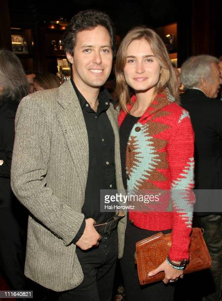 David Lauren and Lauren Bush during Cocktail Reception to Celebrate Ricky Lauren's Book Ricky Lauren Cuisine Lifestyle and Legend of the Double RL...