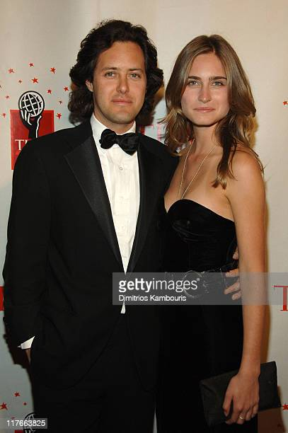 David Lauren and Lauren Bush during Time Magazine's 100 Most Influential People 2006 Arrivals at Jazz at Lincoln Center at Time Warner Center in New...