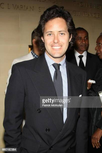 David Lauren attends Celebrating Fashion Gala Awards Dinner to Support The GORDON PARKS Foundation at Gotham Hall on June 2 2009 in New York City