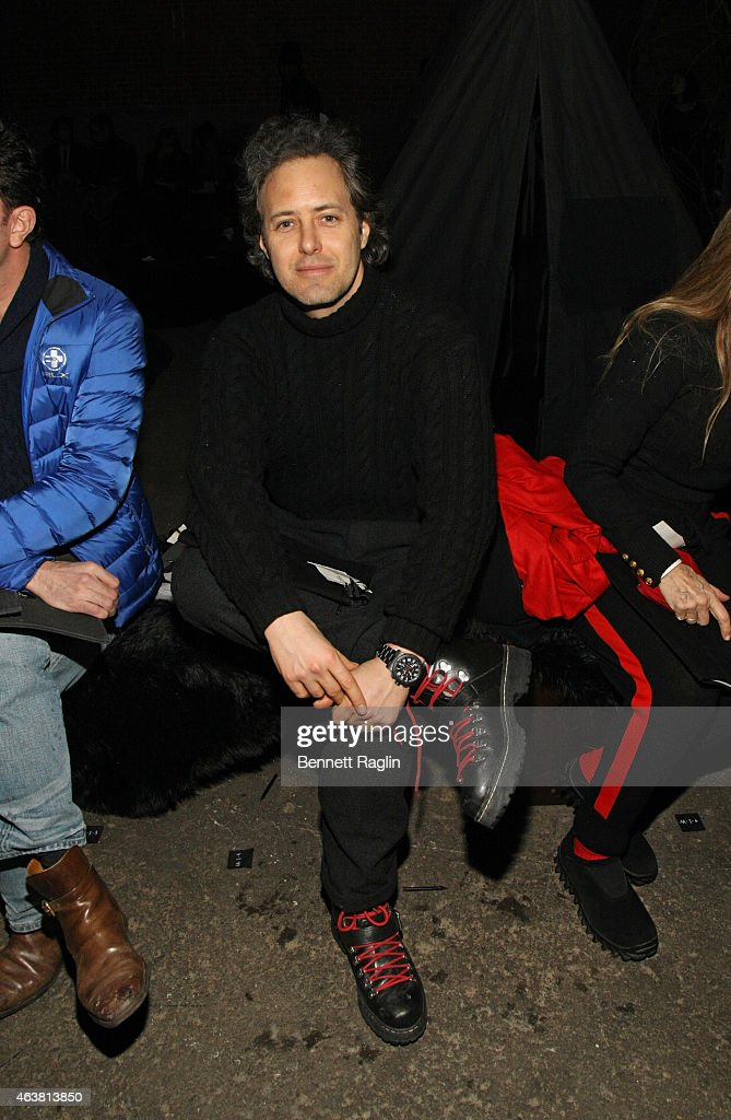 David Lauren attends the Greg Lauren fashion show during Mercedes-Benz Fashion Week Fall 2015 at ArtBeam on February 18, 2015 in New York City.