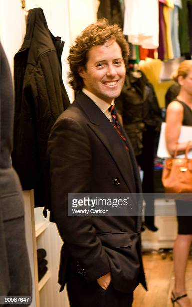 David Lauren Attends The Nacho Figueras Celebration Of Ralph Laurens Iconic Polo Shirt For Fashions Night