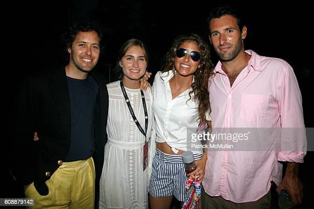 David Lauren Lauren Bush Dylan Lauren and Paul Arrouet attend HAMPTON SOCIAL at ROSS Presents BILLY JOEL in Concert Sponsored by SONY CIERGE at The...