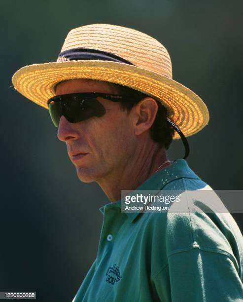 David Leadbetter of Great Britain, golf coach and instructor during the 98th United States Open golf tournament on 16th June 1998 at the Olympic Club...