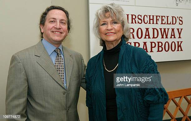 David Leapold and Louise Kerz Hirschfeld attend The Orchid Show On Broadway preview at The New York Botanical Garden on March 4 2011 in the Bronx...