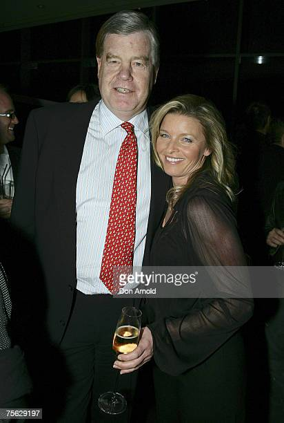 David Leckie and Tammy McIntosh attend the party to celebrate 400 episodes of popular Australian soap All Saints at The Astra Bar Star City on July...