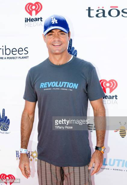David Lee attends the 8th Annual Pedal On The Pier Fundraiser at Santa Monica Pier on June 3 2018 in Santa Monica California
