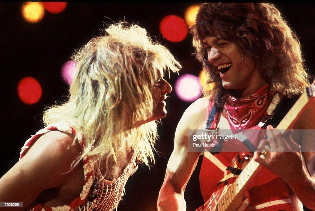 Van Halen On Stage : News Photo