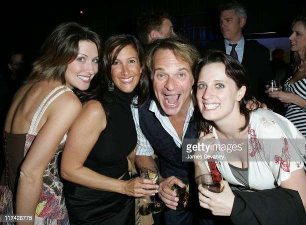 David Lee Roth and guests during Stratus Rewards Launches a New Lifestyle Club and Credit Card at Manhattan Ballroom in New York City New York United...