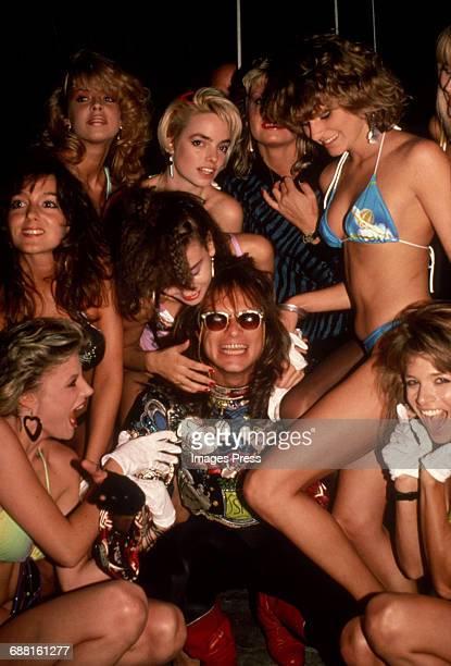 David Lee Roth at the Palladium circa 1985 in New York City