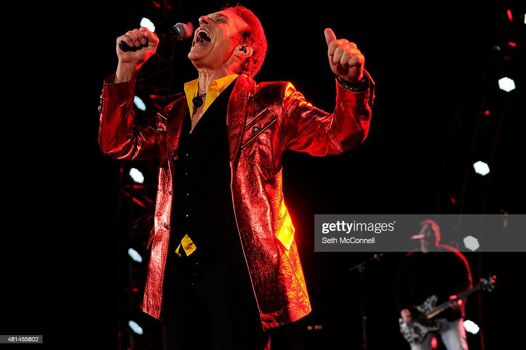David Lee Roth of Van Halen performs at Red Rocks Amphitheatre on July 20, 2015 in Morrison, Colorado.