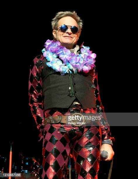 David Lee Roth performs onstage at Staples Center on March 04, 2020 in Los Angeles, California.