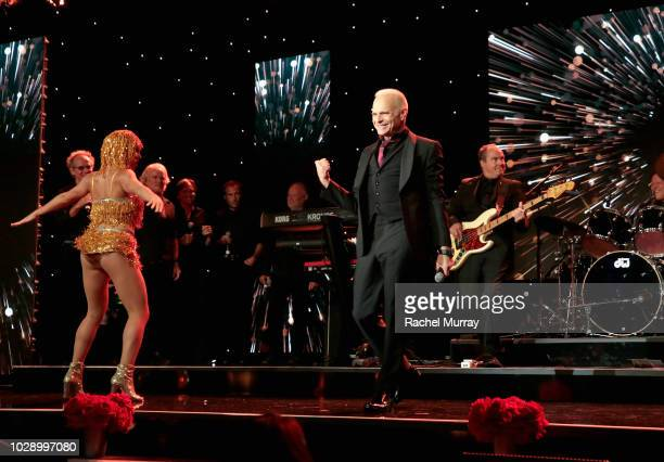 David Lee Roth performs onstage at The Brent Shapiro Foundation Summer Spectacular at The Beverly Hilton Hotel on September 7 2018 in Beverly Hills...