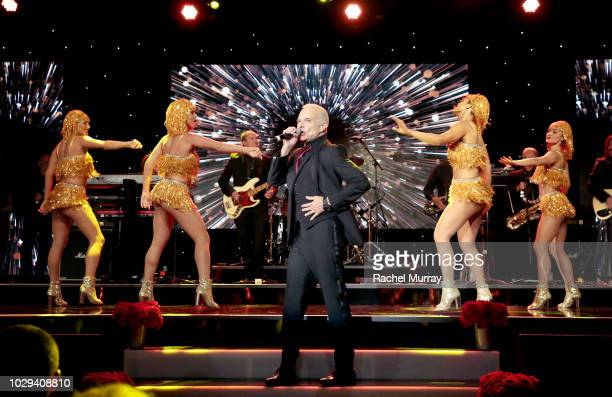 David Lee Roth performs onstage at The Brent Shapiro Foundation Summer Spectacular at The Beverly Hilton Hotel on September 7, 2018 in Beverly Hills,...
