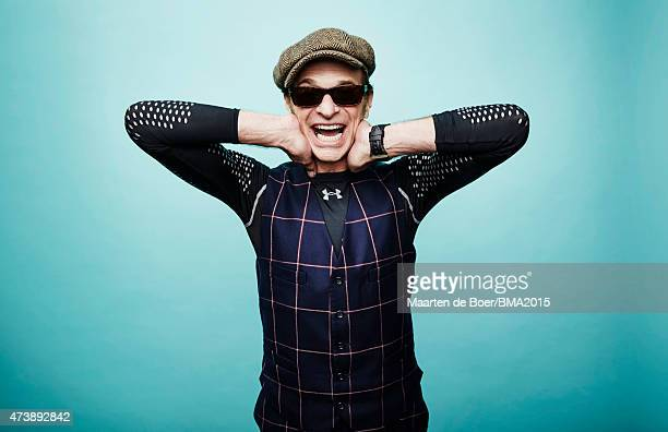 David Lee Roth poses for a portrait at the 2015 Billboard Music Awards on May 17, 2015 in Las Vegas, Nevada.