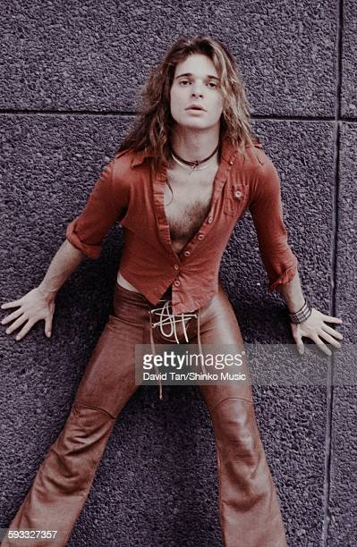 David Lee Roth posing in the United States in the city unknown 1978