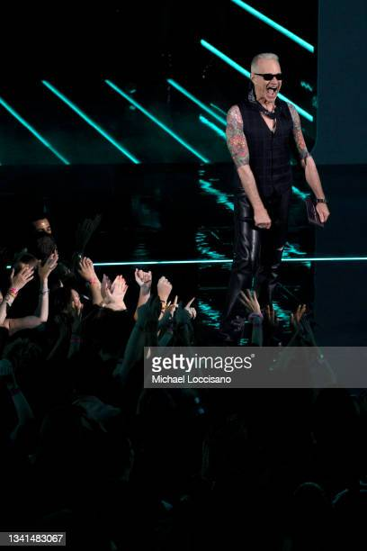 David Lee Roth speaks onstage during the 2021 MTV Video Music Awards at Barclays Center on September 12, 2021 in the Brooklyn borough of New York...