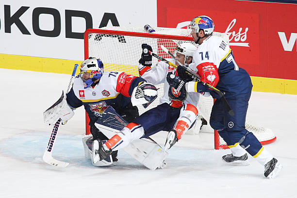 DEU: Red Bull Munich v Vaxjo Lakers  - Champions Hockey League