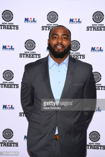 David Legree a arrives at the unveiling of the The New York Streets at WeWork on December 18 2018 in Los Angeles City
