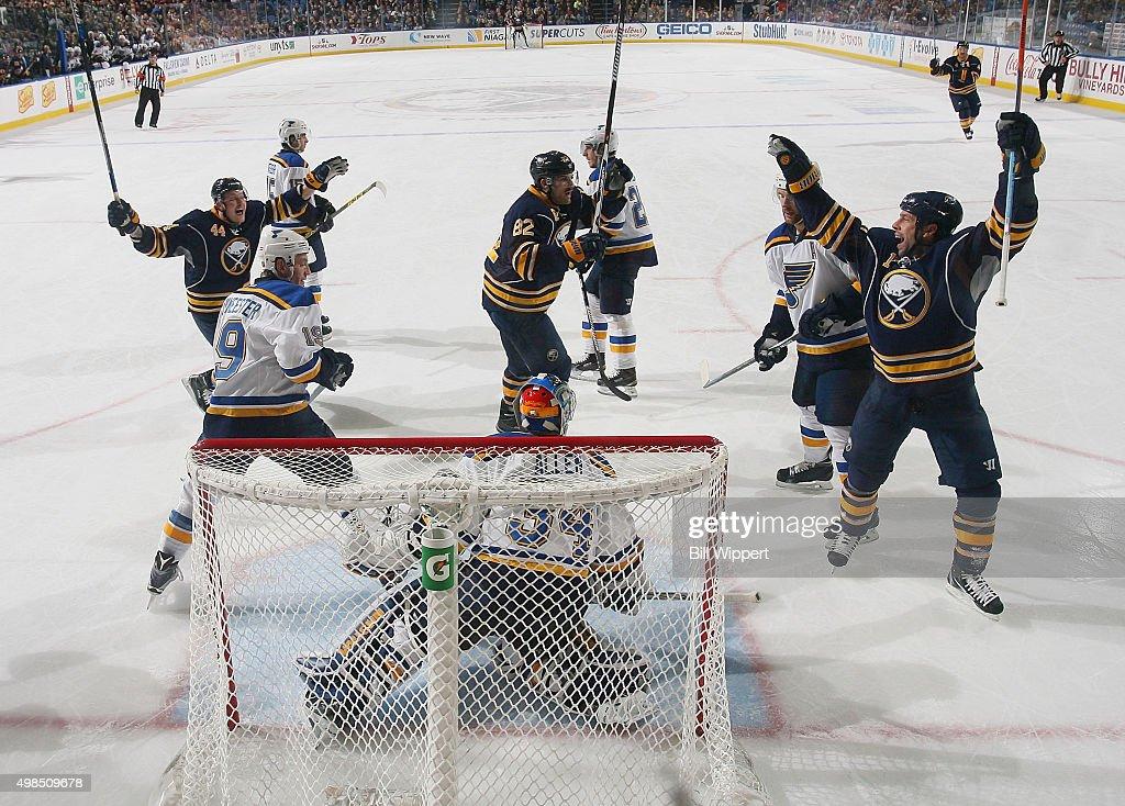 St Louis Blues v Buffalo Sabres