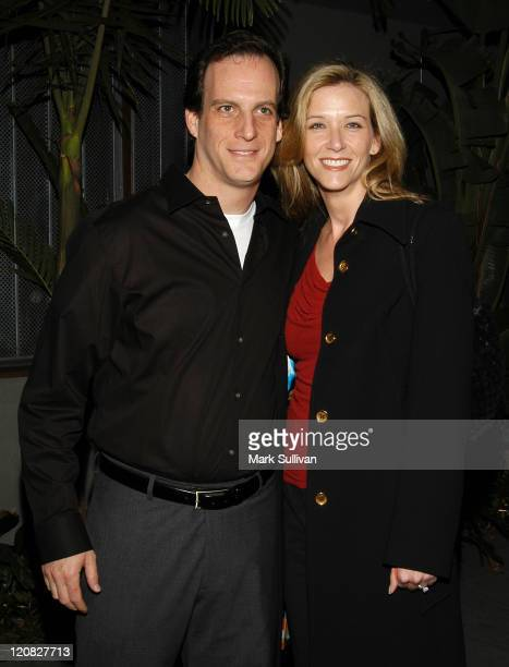David Leiman and Maria Crenna during Judging Amy Celebrates Its 100th Episode at White Lotus in Hollywood California United States