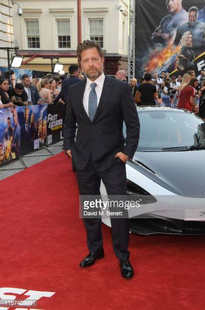 """David Leitch attends a special screening of """"Fast & Furious: Hobbs & Shaw"""" at The Curzon Mayfair on July 23, 2019 in London, England."""