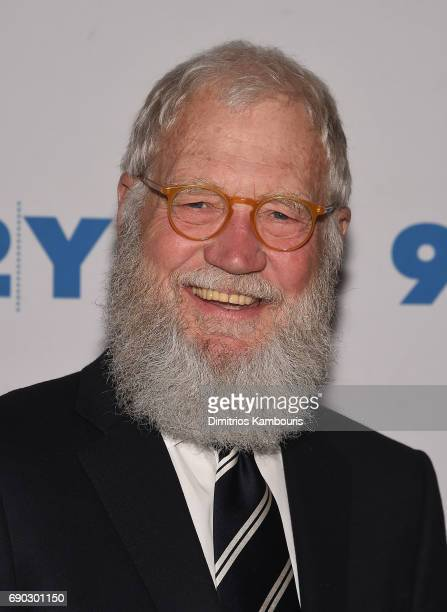 David Letterman attends The 92nd Street Y Conversation with Senator Al Franken and David Letterman at 92nd Street Y on May 30 2017 in New York City