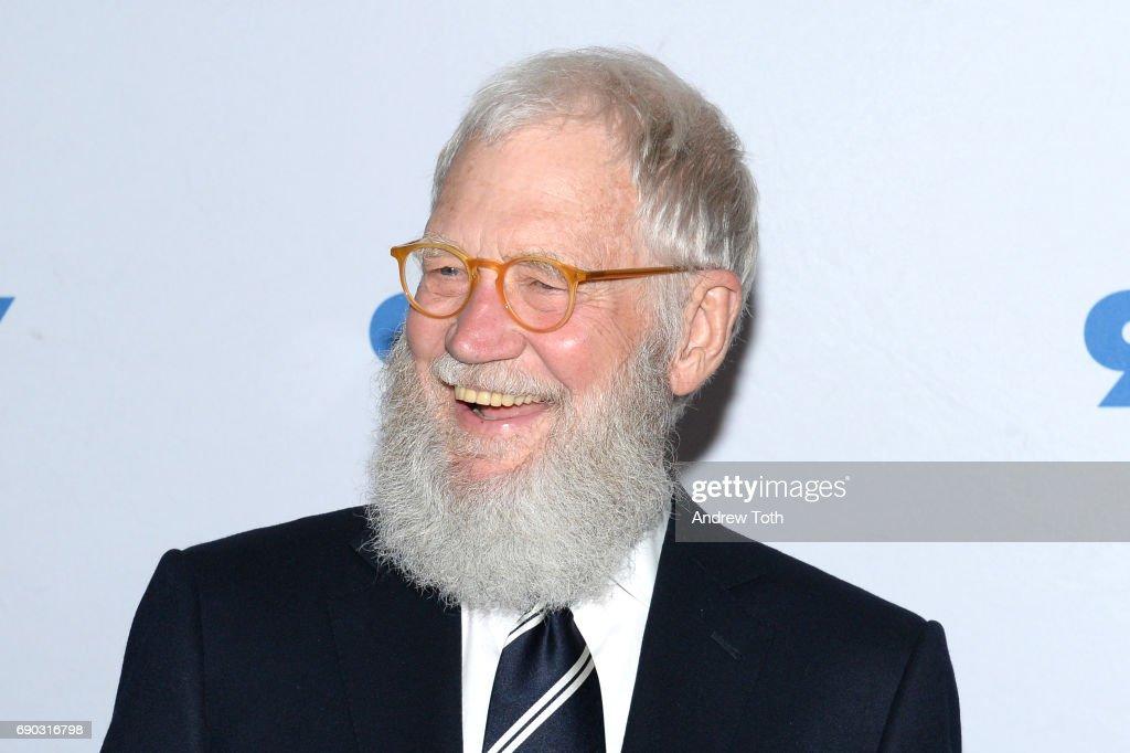 92nd Street Y Presents Senator Al Franken In Conversation With David Letterman : News Photo