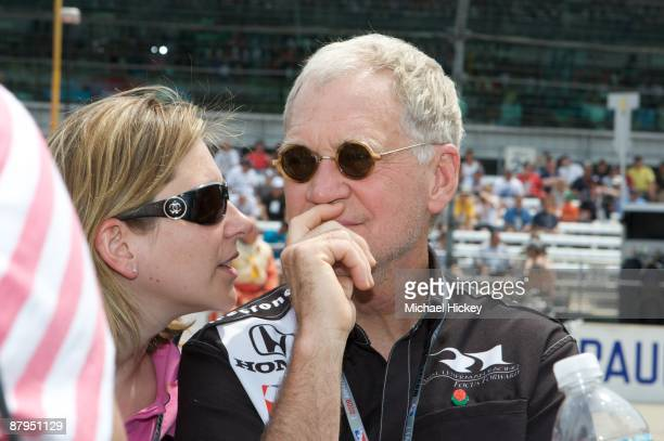 David Letterman attends the 93rd running of the Indianapolis 500 at Indianapolis Motor Speedway on May 24, 2009 in Indianapolis, Indiana.
