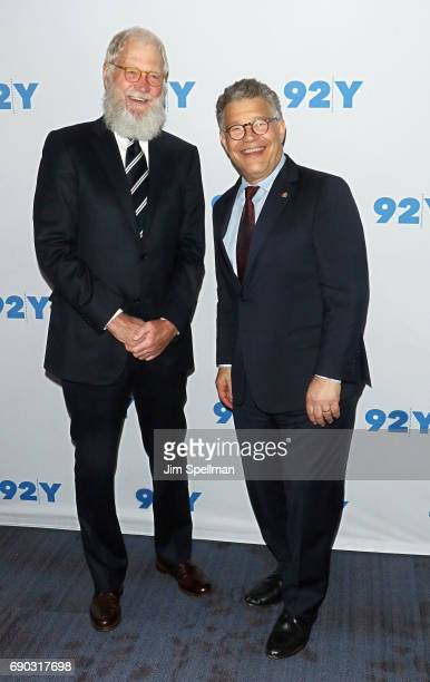 David Letterman Television Host Stock Photos And Pictures Getty - Al franken us map letterman