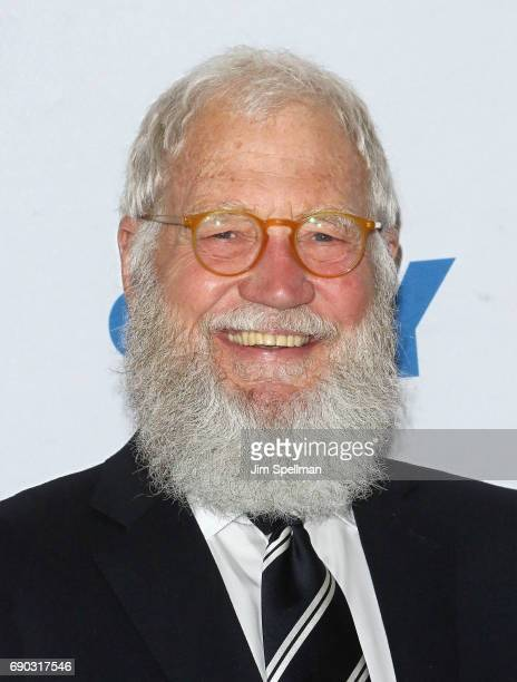 David Letterman in conversation with senator Al Franken at 92nd Street Y on May 30 2017 in New York City