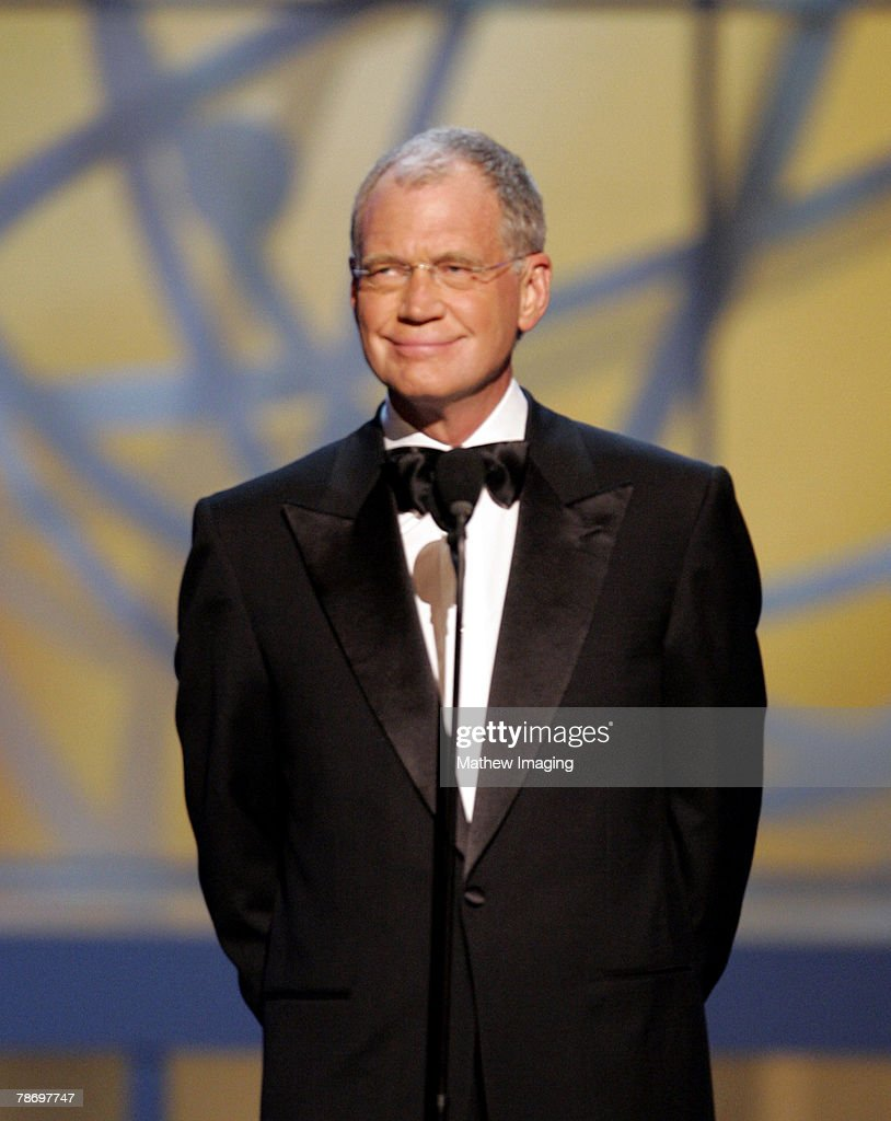 David Letterman introduces the Johnny Carson tribute