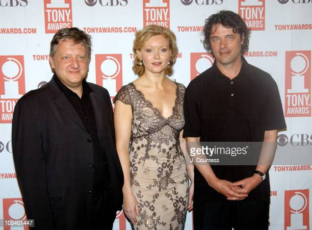 David Leveaux, Essie Davis and Simon Russell Beale